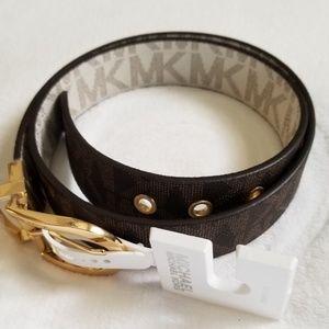 Michael Kors Riversible Belt Size S